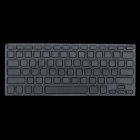 Protective Silicone Keyboard Cover Skin Protector Guard für MacBook Pro - Schwarz