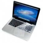 Protective Silicone Keyboard Cover Skin Protector Guard for MacBook Pro - White