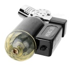 105 Mini Windproof Butane Jet Torch Lighter - Black