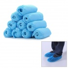 Thicken Non-woven Fabric Shoe Cover - Blue (10 PCS)