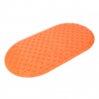 Bathroom Foot Massager Non-slip Mat - Orange