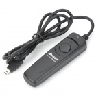 RS-MCDC2 LED Indicator Shutter Cable Release for Nikon D90 / D3100 / D5000 / D7000 - Black (90cm)