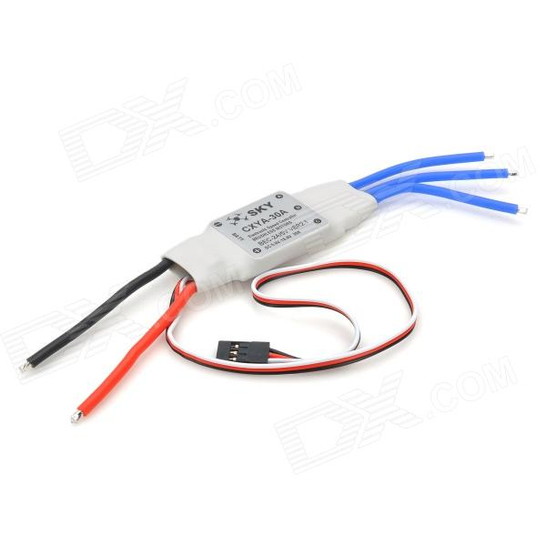 Four-Axis Brushless Motor Speed Controller w/ BEC for R/C Helicopter - White