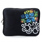 "Stylish Protective Neoprene Zippered Inner Bag for Ipad 4 / 9.7"" Tablet PC / The New Ipad - Black"