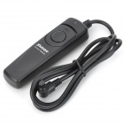 RS-80N3 Wired Remote Shutter Release for Canon 5D Mark III / 5D Mark II + More - Black (85cm-Cable)