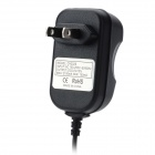 AC Power Adapter w / 30-Pin-Stecker-Kabel für Samsung Galaxy Note N8000 10.1 - Schwarz (2-Flat-Pin-Stecker)