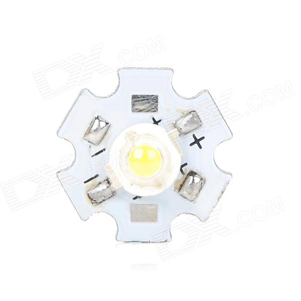 GY-TH-1 1W 90~120lm 1-LED White Light Module w/ Power Supply Driver - Yellow + White