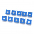 5Kohm Potentiometer Adjustable Resistors Set - Blue (10 PCS)