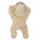 4021 Cute Dog Shaped Fridge magnet - Beige