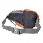 NatureHike YB02 Outdoor Mountaineering Riding Running Waist Bag - Orange + Grey (3 L)