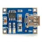Mini 1A Lithium Battery Charging Module - Blue