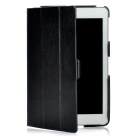 Stylish Protective PU Leather + PC Case for Ipad MINI - Black