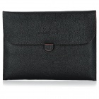 Protective PU Leather Carrying Case Pouch for iPad 2 / The New iPad - Black