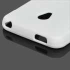 Protective Silicone Back Case for Meizu MX2 - White