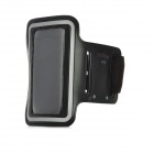 Sporting Outdoor Neoprene + Sponge Armband for iPhone 4 / 4S - Black