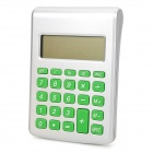 "01 Hydro Battery Powered 2.3"" LCD 8-Digit Calculator - Silver + Green"