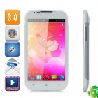 "Z-007 MTK6575 WCDMA Android 4.0 Tablet Phone w/ 5.0"" Capacitive Screen, Wi-Fi and GPS - White"