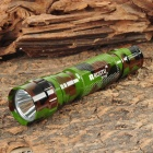 RUSTU R03M Cree XM-L T6 800lm 3-Mode White Flashlight - Camouflage (1 x 18650)