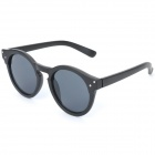 OREKA B077 Retro UV400 Protection PC Lens Sunglasses - Black Frame
