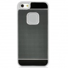 Protective Aluminum Alloy Case for iPhone 5 - Black + Grey
