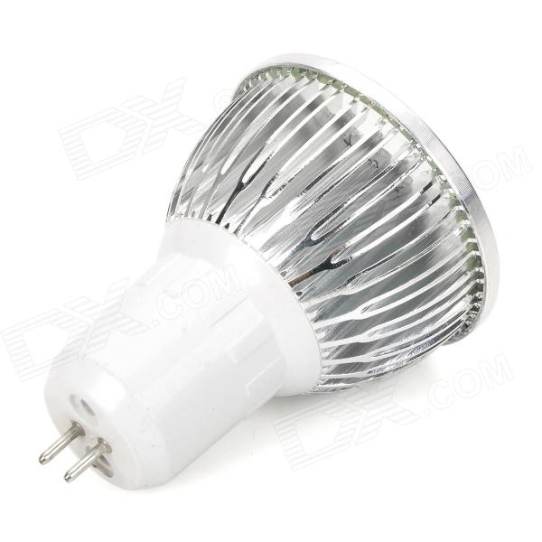 g5 3 6w 450lm 6000k 16 led white light bulb lamp silver. Black Bedroom Furniture Sets. Home Design Ideas