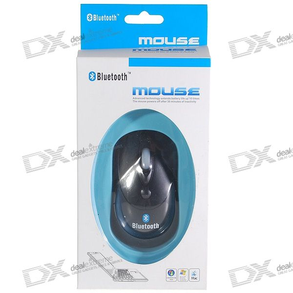 Bluetooth 2.0 Wireless 2.4GHz 1000dpi Optical Mouse (2 * AAA)