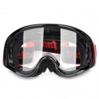 TanKed 990 Outdoor Motorcycle Riding Cool Windproof Goggles - Black + Red + Transparent