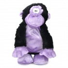 Cute Orangutan Shape Music Dancing Toy - Black Purple (4 x AA)