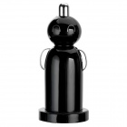 LeTouch Power Doll Style Dual USB Car Cigarette Powered Charger - Black (12~24V)