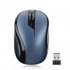 G-179 2,4 GHz Wireless-USB 1000dpi Optical Mouse - Blue + Black