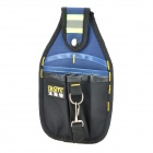 FASITE PT-N014 Waist Electrician Tools Bag with Reflective Strip - Black + Blue