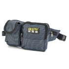 FaSiTe PT-N054 Casual Oxford Fabric Electrical Repairing Tool Storage Waist Bag - Black + Grey