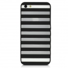 Protective Elevator Style Plastic Case for iPhone 5 - Black
