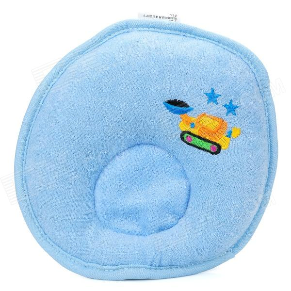 Soft Pure Cotton Baby Shaping Pillow - Blue