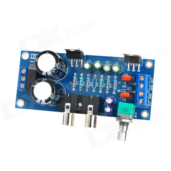 Model TDA2030A Quantity 1 Color Blue Material PCB Specification Voltage: AC 9 12V, Output power...