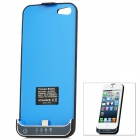 2200mAh External Battery Pack Case + 8 Pin Lightning / Micro USB Male to USB Male Cable for iPhone 5