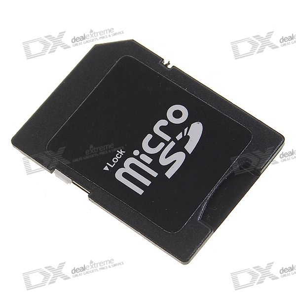 MicroSD/Transflash TF to SD/SDHC Card Adapter (5-Pack)