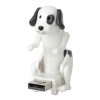 USB Powered Funny Cute Stress Relieving Humping Spot Dog Toy - Black + White