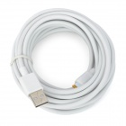 USB to 8-Pin Lightning Data / Charging Cable for iPhone 5 / iPad Mini / iPad 4 - White (5m)