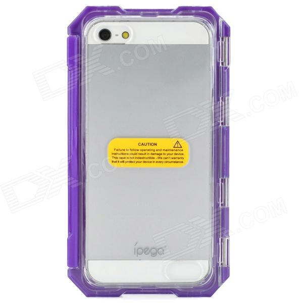 Genuine IPEGA Waterproof Protective Case for Iphone 5 - Purple ipega i5056 waterproof protective case for iphone 5 5s 5c light purple