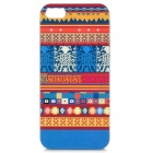 Airwalks Protective PC Back Case for Iphone 5 - Blue + Red + Yellow