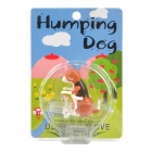 USB Powered Funny Cute Stress Relieving Humping Spot Dog Toy - Brown + Chocolate + White
