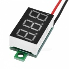 "V20D 0.36"" LED Two Line 3-Digital Direct-Current Voltmeter Module"