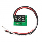 "C20D 0.56""LED 3-Digital Ammeter Module - White + Green (DC 0~5A)"