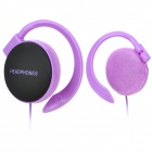 ATH-EQ500 Stylish Ear-Hook Earphones - Purple + Black (3.5mm-Plug / 113cm-Cable)
