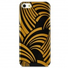 FEMME FEI502 Protective Plastic Case for Iphone 5 - Black + Golden
