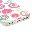 Cute Cartoon Style Protective PC Back Case for Iphone 5 - Multicolor
