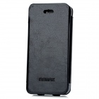 REMAX MKI5PC-2 Protective PU Leather Case for iPhone 5 - Black