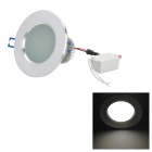 "2.5"" 3W 300lm 7000K 3-LED White Light Ceiling Lamp w/ LED Driver - Silver (85~265V)"