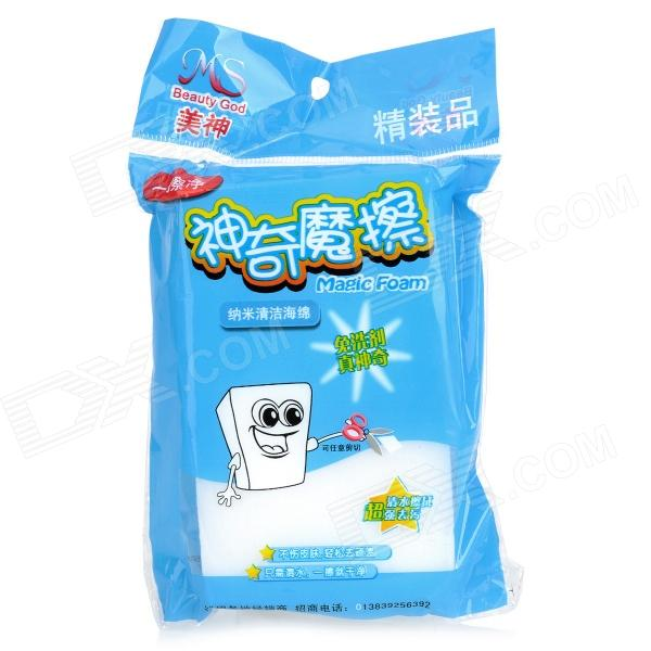 Car Cleaning Sponge Pad - White (5 PCS)